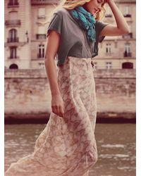 Free People - Multicolor Love Birds Maxi Dress - Lyst