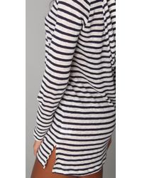 Joie - Blue A La Plage Andy Striped Cover Up - Lyst