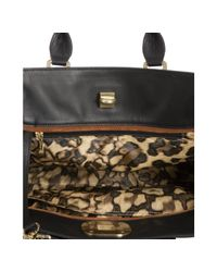 Longchamp | Black Croc Embossed Leather Gatsby Handbag | Lyst
