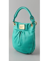Marc By Marc Jacobs | Green Classic Q Mini Hillier Bag | Lyst