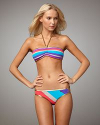 Marc Jacobs   Gray Merida Striped Bandeau Top   Lyst