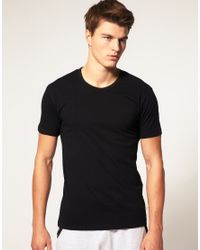 PUMA | Black 2 Pack Crew Neck T Shirts for Men | Lyst