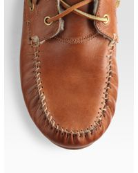 Rag & Bone | Brown Moccasin Ankle Boots | Lyst