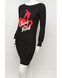 Sonia by Sonia Rykiel | Black Cherry Bomb Knit Dress | Lyst
