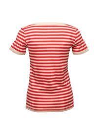 Sonia by Sonia Rykiel - Red Cherry Bomb Striped T-shirt - Lyst