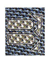 Balenciaga - Blue Graphic Print Cotton T-shirt for Men - Lyst