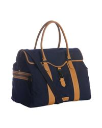 Ben Minkoff - Blue Navy Canvas Bru Weekender Travel Bag for Men - Lyst