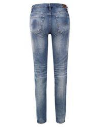 Denim & Supply Ralph Lauren | Blue Low Slim Altamira Wash Jeans | Lyst