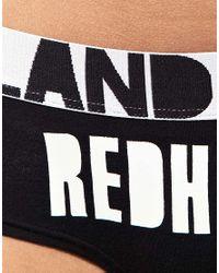 House of Holland   Black Redhead Cheeky Brief   Lyst