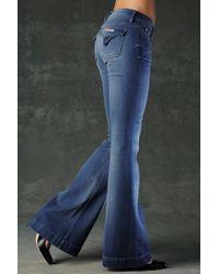 Hudson Jeans - Blue Ferris Flap Pocket Flare - Lyst