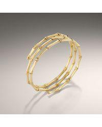 John Hardy - Metallic Triple Coil Bracelet - Lyst