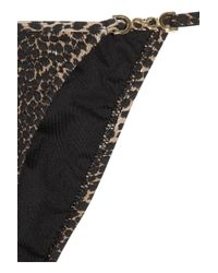 Melissa Odabash | Black Maine Cheetah-print Triangle Bikini | Lyst