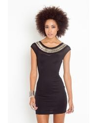 Nasty Gal - Metal N Mesh Dress - Black - Lyst