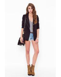 Nasty Gal   Sequin Tux Blazer - Black   Lyst