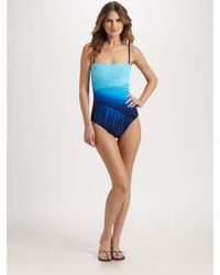 Gottex | Blue One-piece Ombre Swimsuit | Lyst