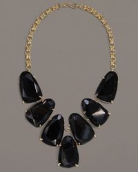 Kendra Scott | Harlow Necklace, Black Onyx | Lyst