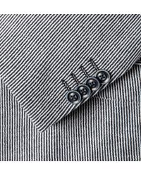 Etro | Blue Down Jacket for Men | Lyst