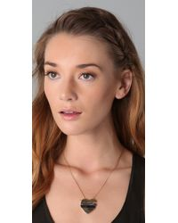 Marc By Marc Jacobs | Metallic Mini Stacked Heart Pendant Necklace | Lyst