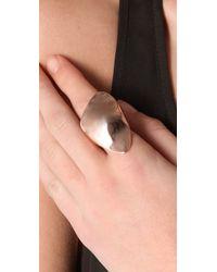 Alexis Bittar - Pink Liquid Triangle Ring - Lyst