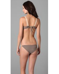 Basta Surf | Brown Tamri Ribbon Bikini | Lyst