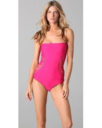 Mikoh Swimwear | Pink Galapagos One Piece | Lyst