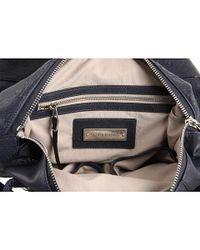 Olivia Harris - Blue Zip Pocket Trapezoid Satchel - Lyst
