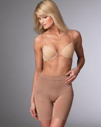 Spanx | Natural Slim Cognito Mid-thigh Shaper | Lyst