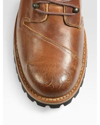 Timberland - Brown Tackhead Lineman Chukka Boots for Men - Lyst
