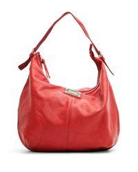 Mango | Red Hobo Handbag | Lyst