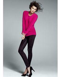 Mango   Pink Knit Sweater   Lyst