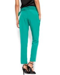 Mango | Green Carrot-style Trousers | Lyst