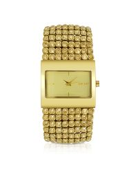 DKNY | Metallic Gold Bracelet Watch | Lyst