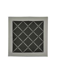 Emporio Armani | Gray Signature Printed Silk Bandana | Lyst