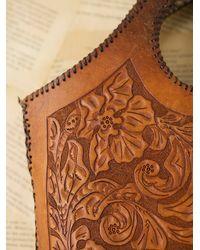 Free People - Brown Vintage Western Tooled Bag - Lyst
