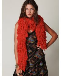 Free People | Red Ihamana Scarf | Lyst