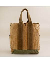 J.Crew | Natural Wallace & Barnes Wayland Canvas Tote for Men | Lyst