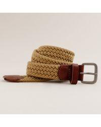 J.Crew | Brown Cotton Braided Belt for Men | Lyst