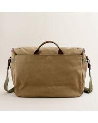 J.Crew | Natural Beaumont Messenger Bag for Men | Lyst