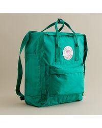 J.Crew | Green Fjällräven® Classic Kanken Backpack for Men | Lyst