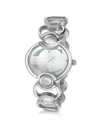 Just Cavalli | Metallic Decor - Crystal Case Bracelet Watch | Lyst