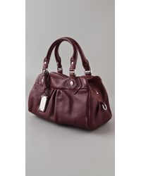Marc By Marc Jacobs - Purple Classic Q Baby Groovee Satchel - Lyst