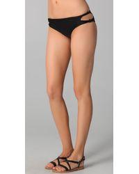 Mikoh Swimwear - Black Todos Santos Bikini Bottoms - Lyst