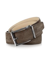 Moreschi | Stiria - Dark Brown Leather Belt for Men | Lyst