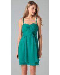 Nanette Lepore - Blue Tap Tap Dress - Lyst