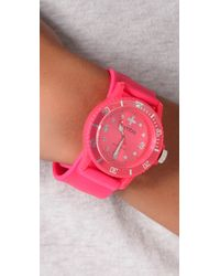 Rumbatime | Neon Pink Perry Slap Watch | Lyst