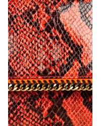 Stella McCartney - Red Shoulder Bag - Lyst