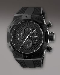 Brera Orologi | Black 48mm Supersportivo Watch for Men | Lyst