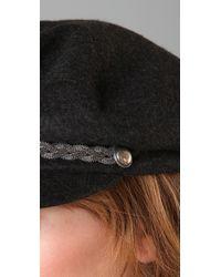 Eugenia Kim | Black Marina Captain Cap | Lyst