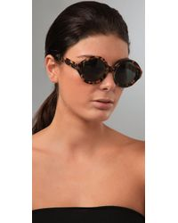 Karen Walker | Multicolor Number Six Sunglasses | Lyst