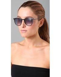 LNA | Black Rialto Sunglasses | Lyst